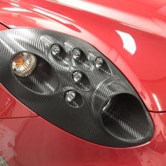 アルファロメオ 4C カーボン ヘッドライト ラッピング 東京.jpg