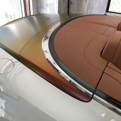 ベントレー-コンチGT-バイカラー-カーラップ-ボンネット-トランク