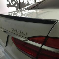 トランクスポイラー-カーボン-ウイング-カーラッピング-BMW-7シリーズ-G11