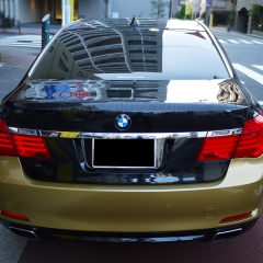 BMW 7series car wrapping