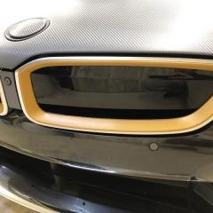 i8 BMW カスタム バンパー グリル 金 ゴールド 銀 シルバー 東京 カーラッピング 足立区