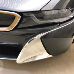i8 BMW カスタム パーツ フロント バンパー グリル 金 ゴールド 銀 シルバー 東京 カーラッピング 中央区