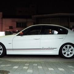 BMW-M3-サイド-ストライプ