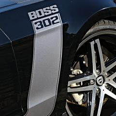 マスタング カーラッピング BOSS302仕様