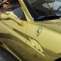 フェラーリ-カリフォルニア-金メッキ