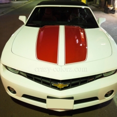 camaro red rallye stripe