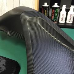 バイク ラッピング カーボン 郵送 パーツ 東京