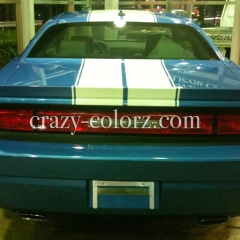 dodge challenger decal