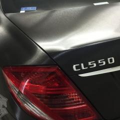 CL550 カーラッピング フルラッピング AMG メルセデスベンツ ブラッシュド 東京 台東区 浅草