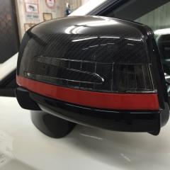 CLS ミラー デカール ステッカー AMG 東京 レッドライン カーラッピング