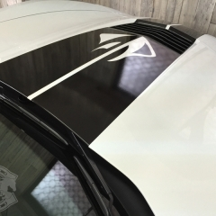 コルベット レーシングストライプ カーラピング 東京 スティングレイ C7 ボンネ