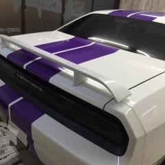 ダッジ アメ車 チャレンジャー レーシングストライプ ライン ステッカー カーラッピング 東京 台東区