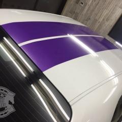 アメ車 チャレンジャー ダッジ レーシングライン ステッカー カスタム ドレスアップ カーラッピング 東京