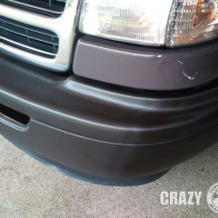 dodge ram van carbon wrapping