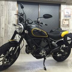 ドゥカティ スクランブラー カーボン バイク ラッピング カスタム ステッカー 東京 台東区