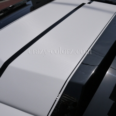 mustang eleanor carbon wrapping