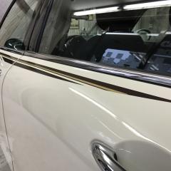 ビクトリア ストライプ F54 クラブマン カーラッピング 東京 台東区