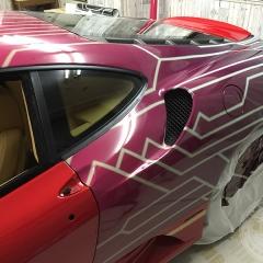 フェラーリF430カーラッピングデモカー