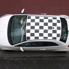 FIAT500 チェッカールーフ
