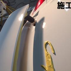 ポルシェ ケイマン コーティング 磨き 東京 台東区 GLARE グレア
