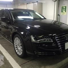 Audi A8L クワトロ ボディーコーティング 東京
