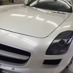 コーティング 台東区 メルセデスベンツ AMG SLS ポリッシュ 研磨 磨き 保護