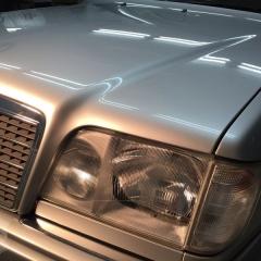 ベンツ Eワゴン コーティング ガラス 化学結合 東京 台東区 W124