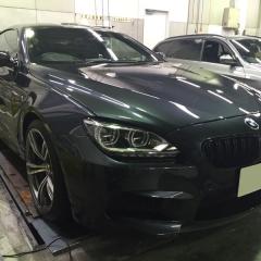 BMW M6 ガラス 化学結合 コーティング 親水 UVカット 東京 台東区