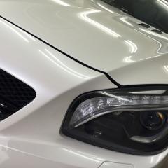 SL63 AMG プロテクションフィルム バンパー コーティング  クリアプレックス 東京 台東区 浅草