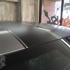レーシングストライプ 東京 カーラッピング 磨き コーティング グレア マットブラック チャレンジャー