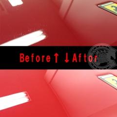 F430 磨き コーティング 親水l