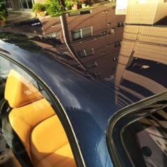 フェラーリ 348tb ガラスコーティング 親水 グレア