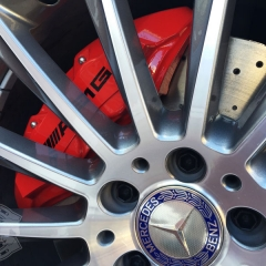 AMG キャリパー塗装 ロゴ レタリング カーラッピング 東京