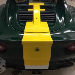 ストライプ ライン ステッカー 3M カーラッピング 東京 ロータス エリーゼ