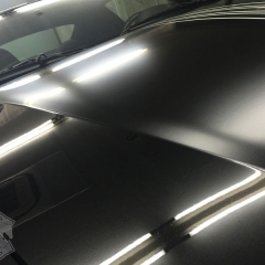 マットブラック カーラッピング レーシングストライプ マセラティ グランスポーツ 東京 台東区 浅草