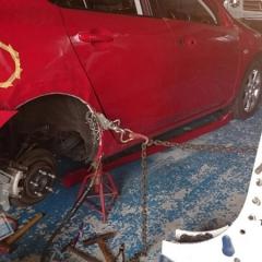 保険対応 事故対応 板金 塗装 カーラッピング マツダ