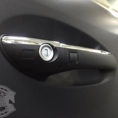 マットブラック カーラッピング 東京 フルラッピング ベンツ ML350