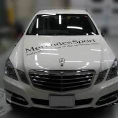 mercedes benz wrapping