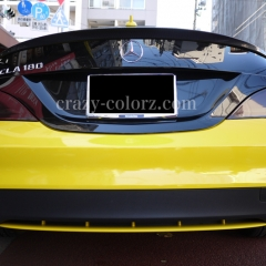mercedes bentz cla bicolor wrapping