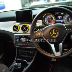 mercedes bentz interior wrapping