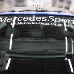 mercedes sport carwrapping tokyo