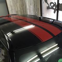 ステッカー デカール ミニ F55 カーラッピング 東京 台東区 浅草