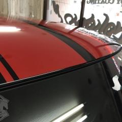 ミニ スポーツストライプ ルーフ ラインステッカー F55 東京 台東区