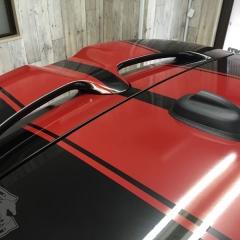 F55 レーシングストライプ DUAL2 ステッカー デカール 東京 ミニ