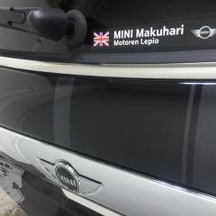 MINI F55 レーシングストライプ ステッカー
