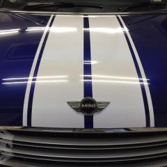 MINI R60 クロスオーバー カーラッピング レーシングストライプ 東京