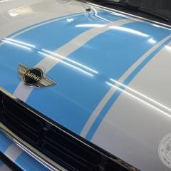 ミニ フードストライプ カーラッピング 東京 ステッカー