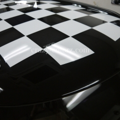MINI R60 CHECKER ROOF DECAL