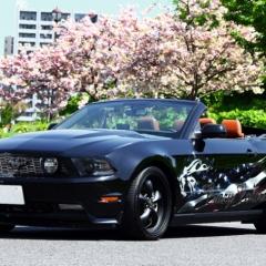 フォード マスタング カーラッピング バイナル デカール ステッカー 東京 台東区 浅草