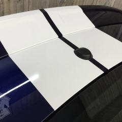 レーシングストライプ カーラッピング 東京 台東区 アメ車 マスタング ライン ステッカー デカール